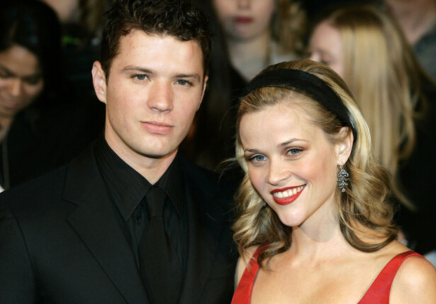 GIFT: Phillippe var gift med skuespiller Reese Witherspoon fra 1999 til 2006. Sammen har de to barn. Foto: NTB Scanpix
