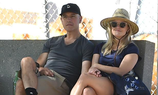 GIFT: Jim Toth og Reese Witherspoon har vært gift siden 2011. Sammen har de sønnen Tenessee. Foto: Shutterstock