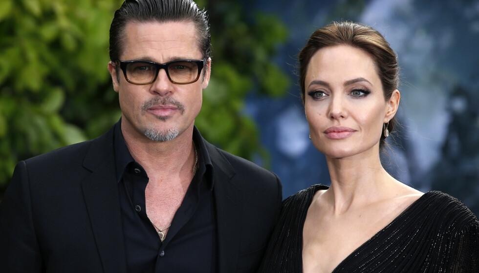 TAPTE: Brad Pitt og Angelina Jolie ble saksøkt for 600 000 dollar. Søndag ble det kjent at dem har tapt. Foto: Pa Photos