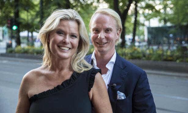 FANT LYKKEN: Petter Pilgaard la singellivet på hylla da han falt pladask for vakre Vendela Kirsebom. Foto: NTB scanpix