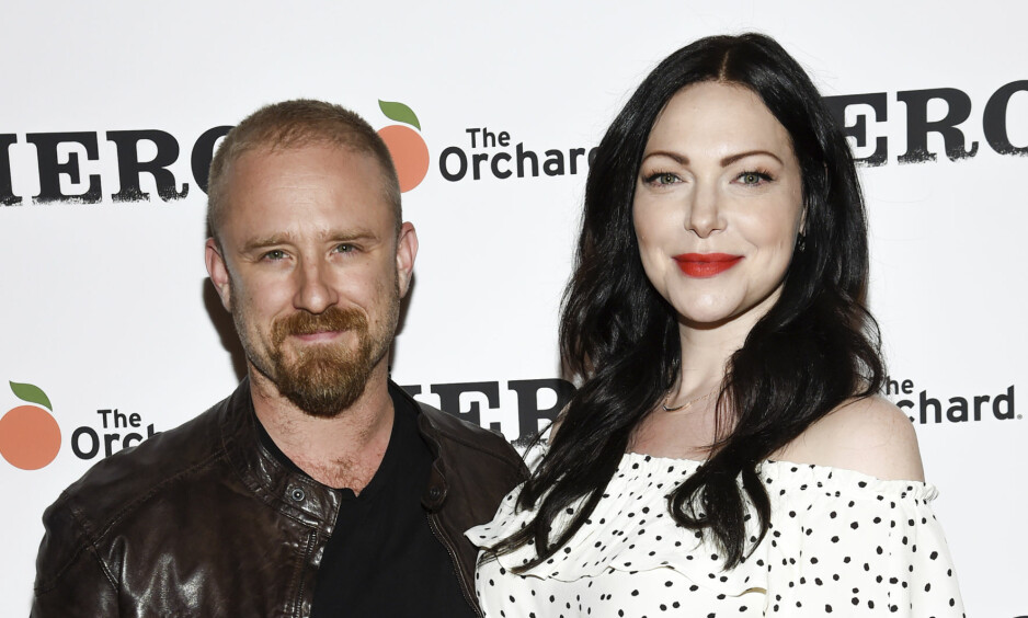 STOR LYKKE: Ben Foster og forloveden Laura Prepon skal ha fått sitt første barn sammen. Foto: NTB scanpix