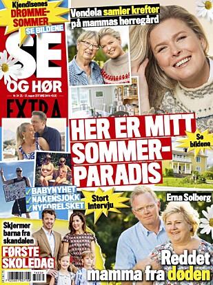 LES MER: I ukens utgave av Se og Hør Extra kan du lese mer om det hyggelige vennskapet til «Stjernekamp»-dommerne. Foto: Faksimile