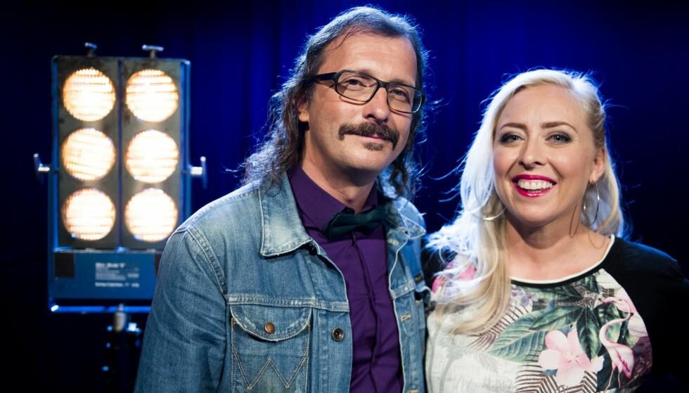 LIKE BARN LEKER BEST: De to dommerne i NRK-programmet er begge fra Hovseter i Oslo. Foto: NTB scanpix