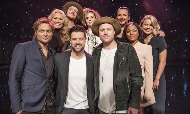 STJERNEGJENG: Dette er de ti artistene som skal kjempe om å vinne årets «Stjernekamp». Foto: Morten Eik