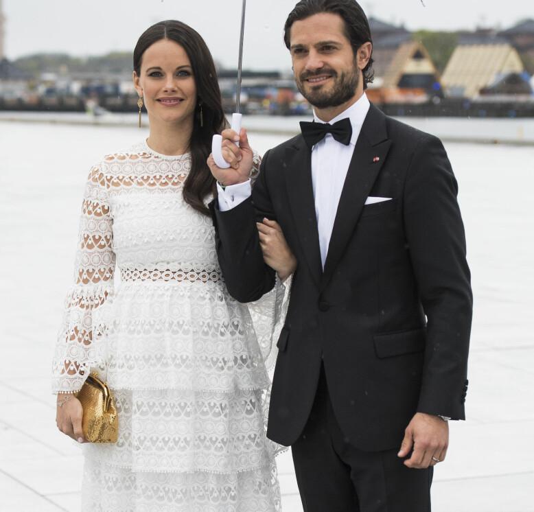 <strong>I OSLO:</strong> Prinsesse Sofia og prins Carl Philip sammen i Oslo tidligere i år, under kong Harald og dronning Sonjas 80 årsfeiring. Foto: NTB Scanpix