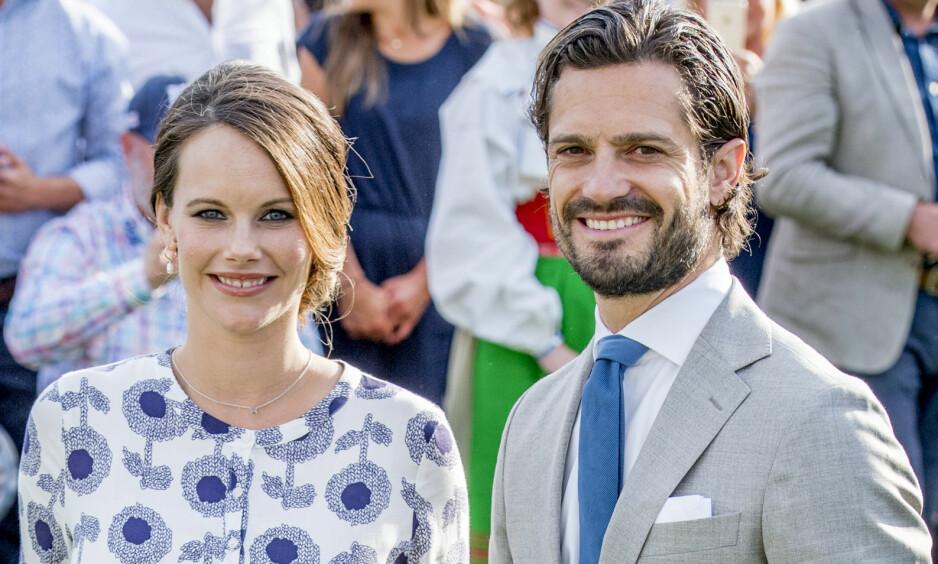 <strong>TOBARNSFORELDRE:</strong> Prinsesse Sofia og prins Carl Philip delte i dag den glade nyheten om at de har blitt foreldre for andre gang. Foto: Shutterstock