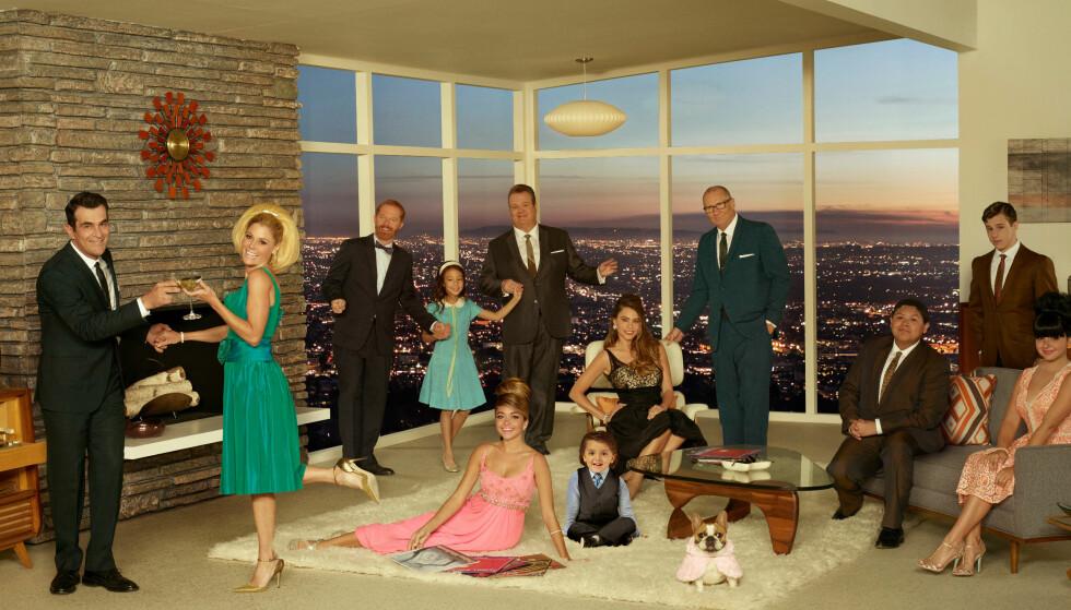 TV-STJERNE: Sofia er kjent fra TV-serien «Modern Family». Foto: TV 2