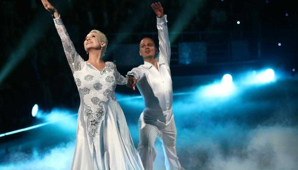 Hedda Kise og Ivo Havranek fikk til sammen 28 poeng av dommerne. Foto: Thomas Reisæter / TV 2