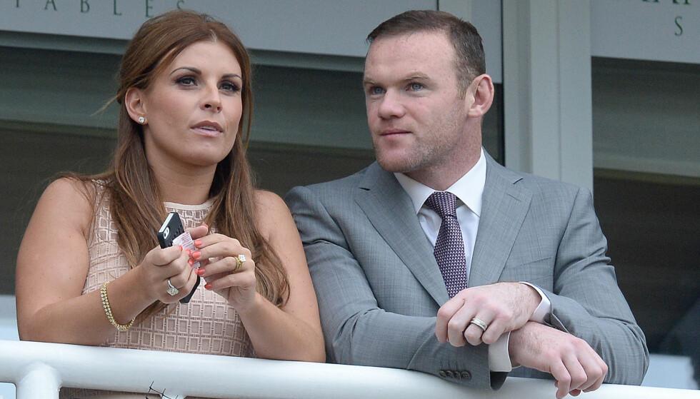 <strong>RASENDE:</strong> Etter en kveld på byen skal Wayne Rooney gjøre alt for å redde ekteskapet med kona Coleen. Foto: Pa Photos