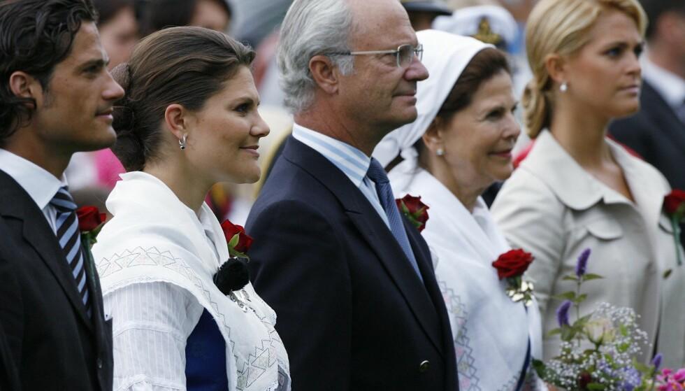 SVERIGE: Den svenske kongefamilien har vært svært åpne om sitt forhold til dysleksi. Foto: Reuters