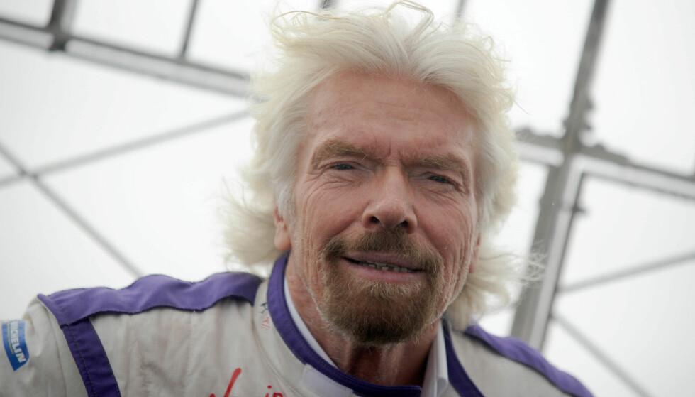 - DUM: Richard Branson følte seg dum da han gikk på skolen. Nå er han god for over fem milliarder dollar, ifølge Forbes. Foto: NTB Scanpix