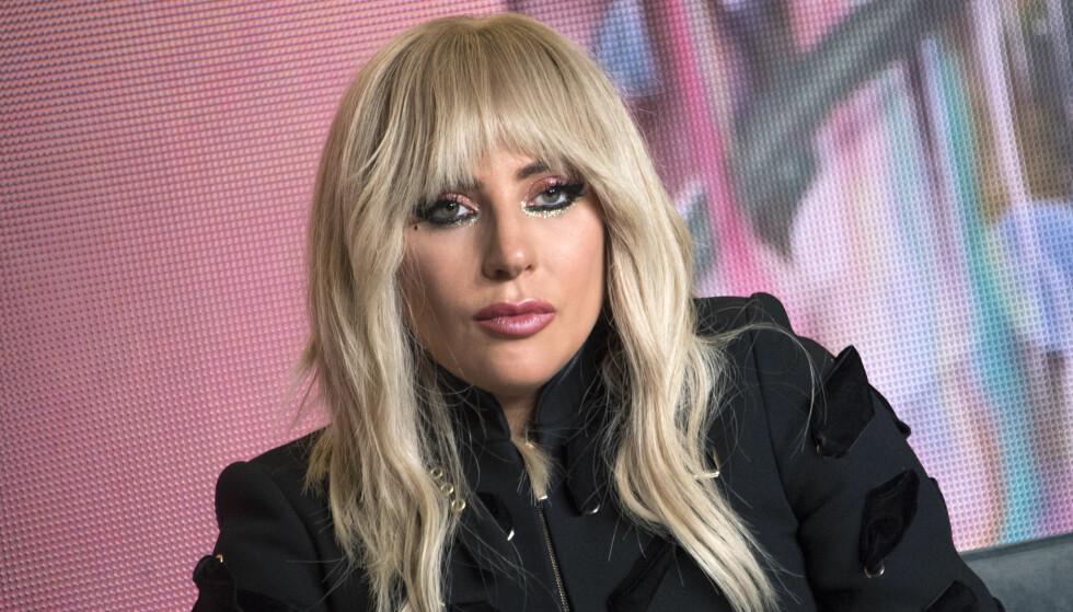 TAPET ER STORT: Lady Gaga mistet vennen sin, Rick Genest, onsdag kveld. Modellen tok selvmord. Foto: NTB Scanpix