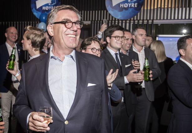 <strong>LIVET SMILER:</strong> Stein Erik Hagen fikk mange frierbrev da han sto frem som homofil i 2015. Nå har han funnet lykken med en 32 år yngre kirurg. Foto: Hans Arne Vedlog / Dagbladet