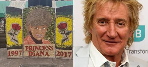 - Diana-hyllesten likner mer på Rod Stewart