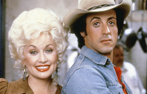 <strong>RYKTENE GIKK:</strong> Dolly og Sylvester Stallone hadde god kjemi på det store lerretet. Mange spekulerer i om de også hadde et forhold. Foto: Bulls/NTB Scanpix
