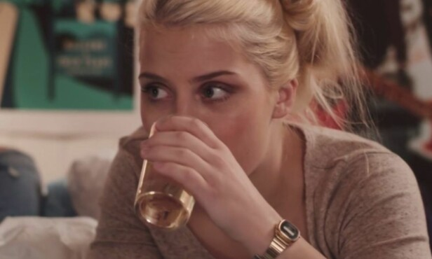 MYE OMTALT: Ulrikke har gjort suksess som «Vilde» i serien «Skam». Foto: NRK
