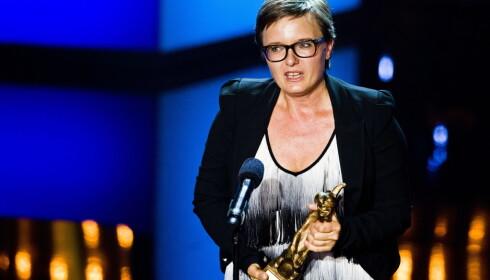 I 2013 mottok Ingrid Bjørnov komiprisen i kategorien «Beste forestilling (scene)» på Chat Noir i Oslo. Foto: Vegard Grøtt / NTB scanpix