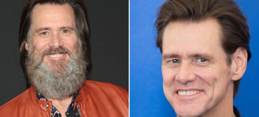 Jim Carrey la sorgen bak seg - barberte vekk 20 år