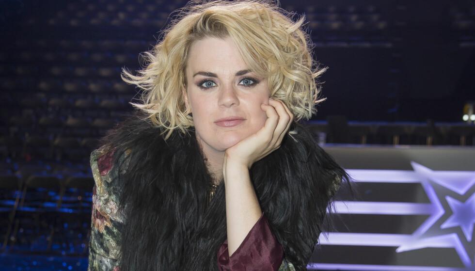 KNUTE PÅ STEMMEBÅNDET: Ida Maria har fått syngeforbud av legen, men skal likevel synge i lørdagens «Stjernekamp». Foto: Tore Skaar, Se og Hør.