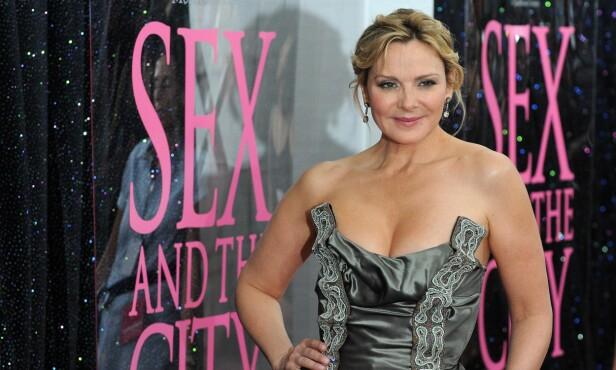 TAKKET NEI: Skuespiller Kim Cattrall har gjort stor suksess som Samantha i «Sex og singelliv». Det var en rolle hun først takket nei til. Foto: Peter Kramer / NTB scanpix
