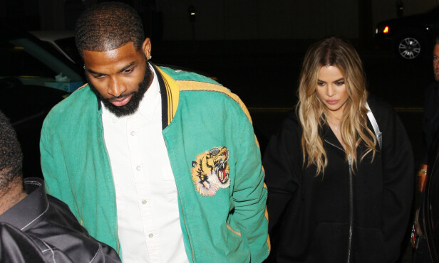 BLIR FORELDRE: Tristan Thompson og Khloe Kardashian venter barn til neste år. Foto: NTB Scanpix