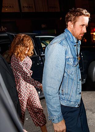 FIKK BARNEVAKT: Ryan og Eva så ut til å sette pris på å ha litt tid for seg selv. Foto: NTB Scanpix