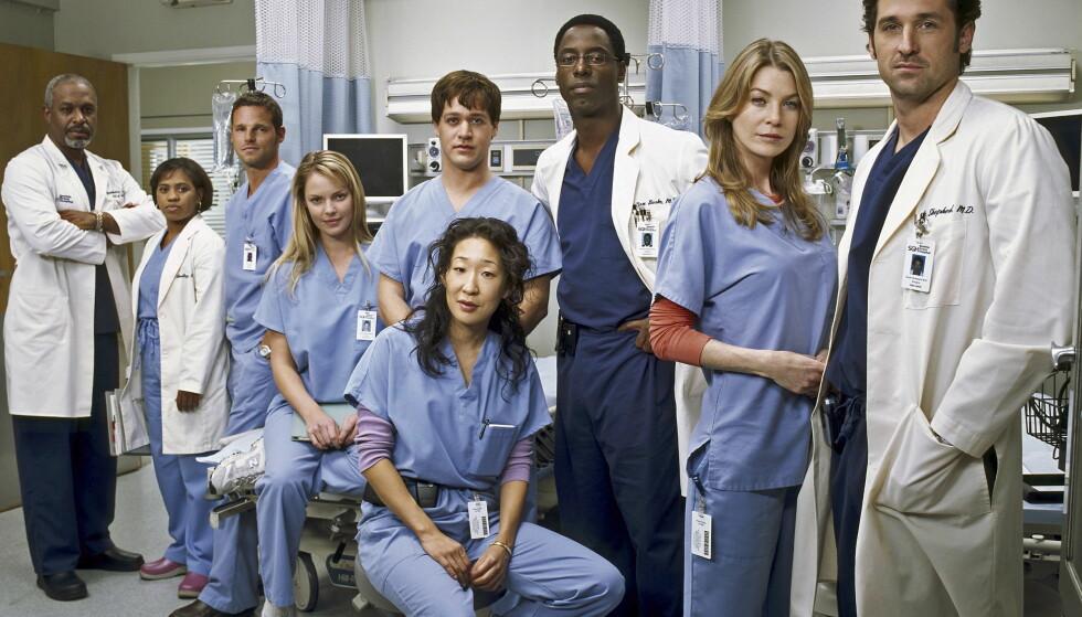 <strong>POPULÆR SERIE:</strong> «Grey's Anatomy» har vært å se på norske tv-skjermer siden 2006. Denne uken hadde den 14. sesongen premiere på amerikansk tv. Foto: TOUCHSTONE TELEVISION / NTB scanpix