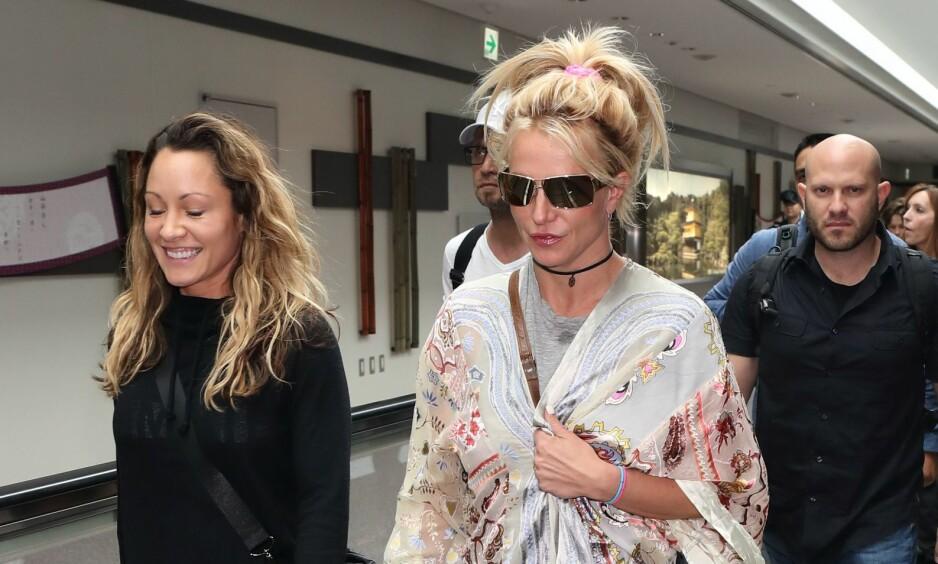 REDD: Britney Spears (35) er en av artistene som frykter for sikkerheten etter de grusomme hendelsene i Las Vegas. Foto: NTB scanpix