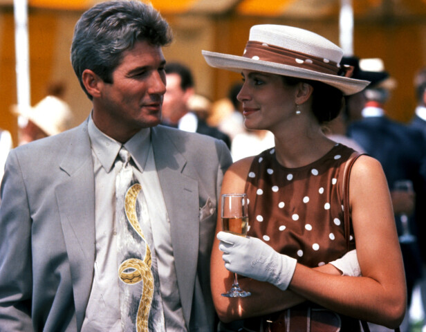<strong>IKONISK:</strong> Richard Gere og Julia Roberts i «Pretty Woman» i 1990. Foto: NTB scanpix