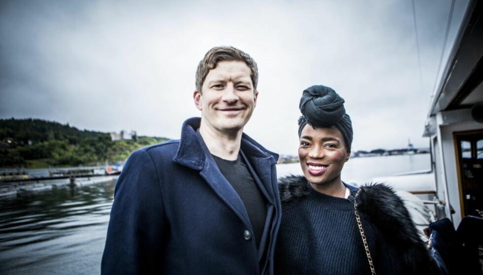 FLYTTER: Snart blir Odd-Magnus og Tinashe foreldre sammen. Fra før av har hun også datteren India. Foto: Christian Roth Christensen / Dagbladet