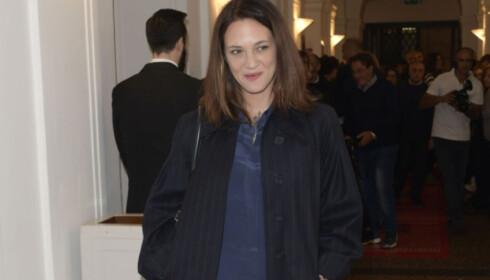 ALVORLIGE PÅSTANDER: Asia Argento er en av kvinnene som anklager Weinstein for voldtekt. Foto: NTB Scanpix