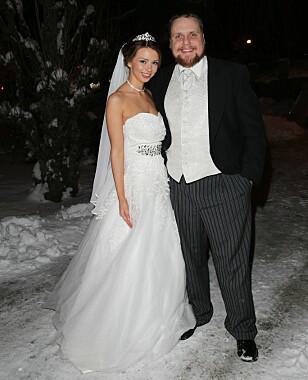 OVERRASKET: Staysman ble overrasket med bryllup gjennom TV 2-programmet «Senkveld». Foto: Andreas Fadum.
