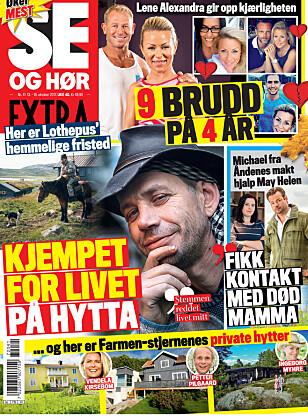 I SALG NÅ: I nyeste nummer av Se og Hør Extra kan du lese mer om Harald Eia. Faksimile: Se og Hør