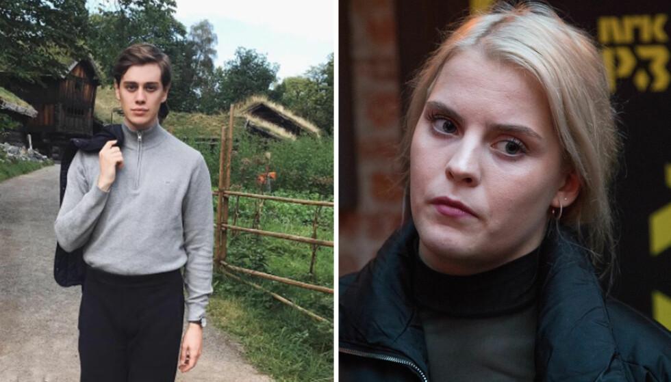 - SKAL MØTES: Stian Lothe kom med et stikk i siden til Ulrikke Falch, etter at hun viste seg kritisk til Siv Jensens kostyme under Finansdepartementets høstfest. Foto: Privat / NTB Scanpix