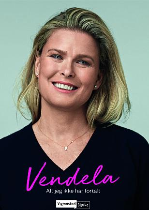 NY BOK: Vendela gir ut en selvbiografi om sitt eget liv. Foto: Forlaget