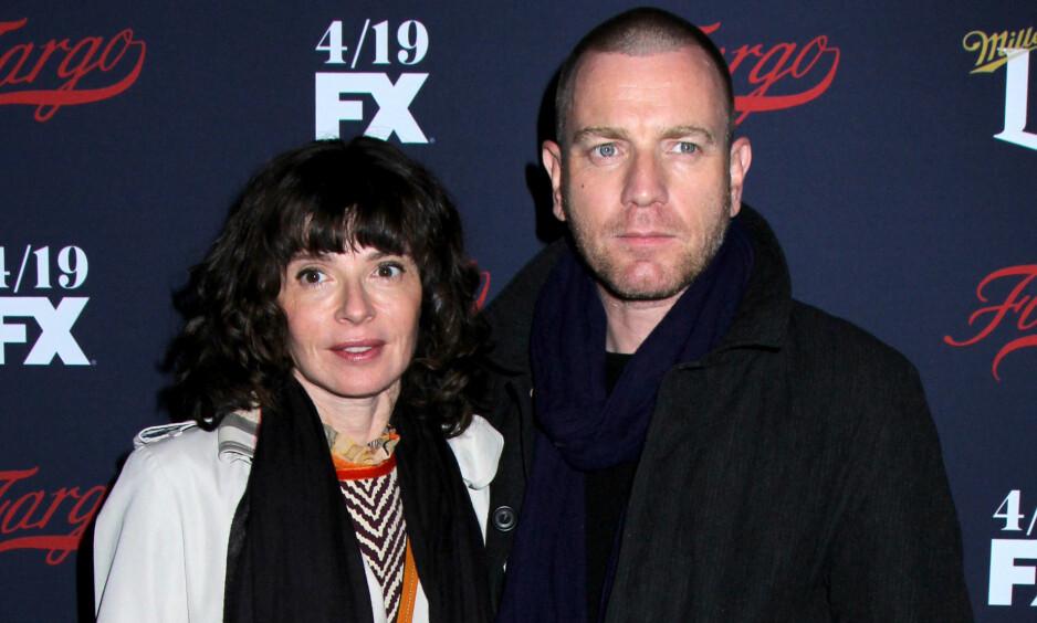 BRUDD: Ifølge People skal Ewan McGregor og kona Eve Mavrakis skal ha tatt ut separasjon i mai. Foto: NTB Scanpix