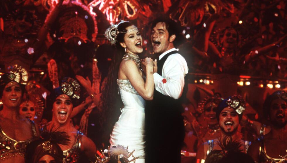 SMELTET HJERTER: McGregor smeltet mange hjerter i sin rolle i Moulin Rouge sammen med Nicole Kidman. Foto: NTB Scanpix.