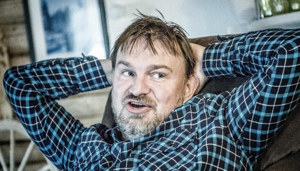 <strong>FORNØYD:</strong> «Farmen»-deltakelsen har satt sine spor på Halvor Sveen. Han er fornøyd med at han har blitt sprekere. Foto: Thomas Rasmus Skaug / Dagbladet