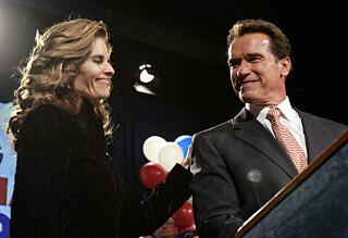 - Arnold nekter å skille seg fra kona han var utro mot