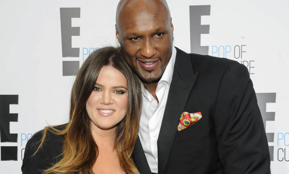 SVIMTE AV: Khloé Kardashians eksmann, Lamar Odom, ble filmet da han falt om på utestedet Bootsy Bellows i Hollywood denne helgen. Foto: NTB scanpix