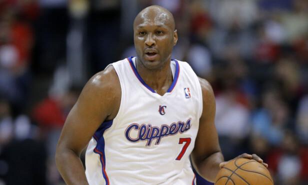 GA SEG: Lamar Odom la opp som basketballspiller i 2014 etter å ha spilt profesjonelt siden 1999. Foto: NTB scanpix