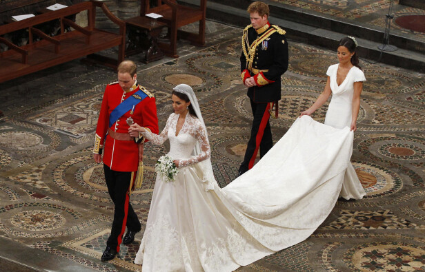 STJAL SHOWET: Britene gikk mann av huse for Kates søster, Pippa Middleton, Foto: NTB Scanpix
