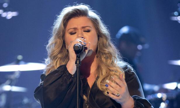 ARTIST: Kelly Clarkson vant første sesong av sangprogrammet «American Idol». Samme år ble hun slått av vår egen Kurt Nilsen under «World Idol», den eneste internasjonale utgaven av programmet. Foto: NTB Scanpix.