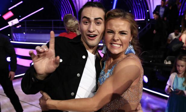 HEAD TO HEAD: Cengiz Al vs. Helene Olafsen - hvem stikker av som seierherre i «Skal vi danse» lørdag kveld? Foto: TV 2