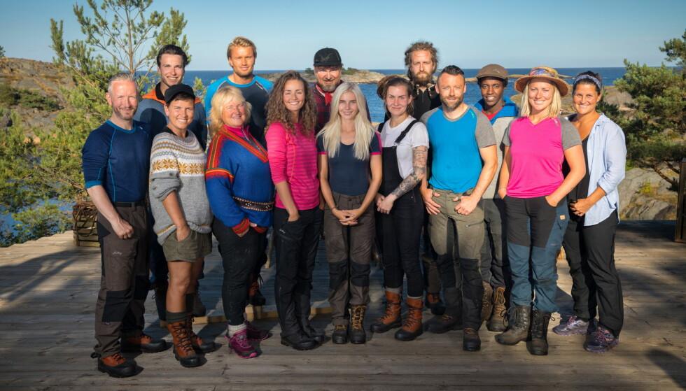 <strong>VEKTTAP:</strong> Flere av «Farmen»-deltakerne har rast ned i vakt under TV-innspilingen. Foto: Espen Solli / TV 2