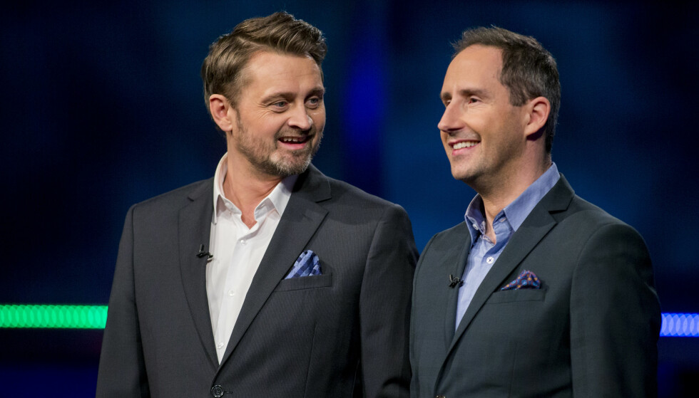 OVER: TV 2 har besluttet å legge ned «Senkveld med Thomas og Harald». Foto: NTB scanpix
