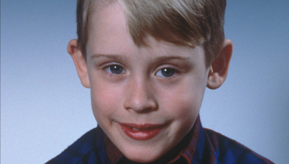 <strong>I 1990:</strong> Macaulay Culkin som Kevin McCallister. Foto: Sipa USA / NTB Scanpix
