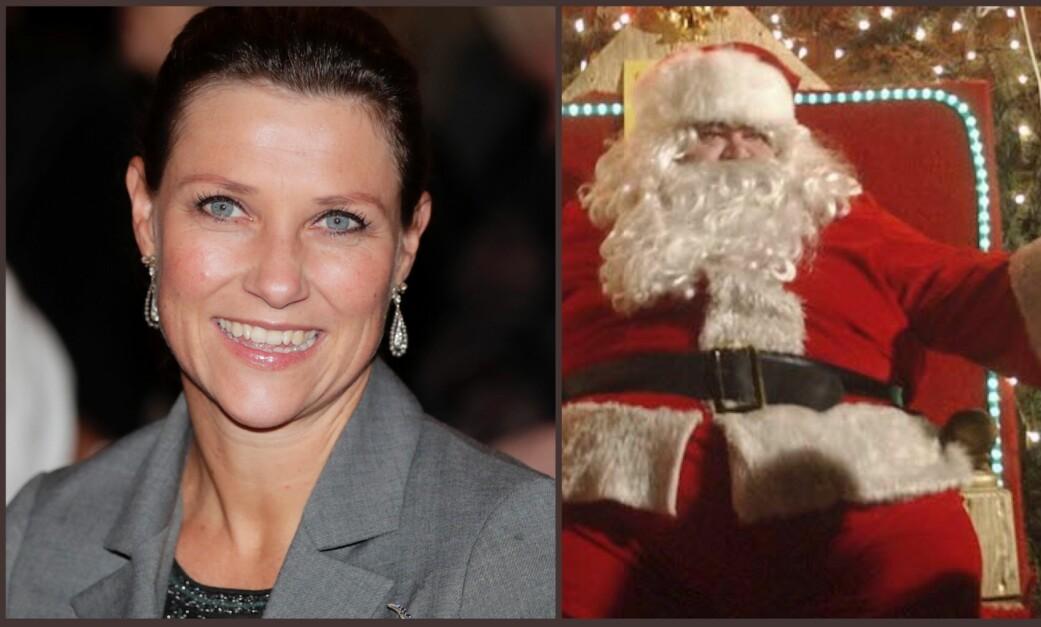 <strong>HO HO:</strong> Märtha Louises la ut en humoristisk melding på Instagram med en ønskeliste til julenissen. Foto: NTB Scanpix
