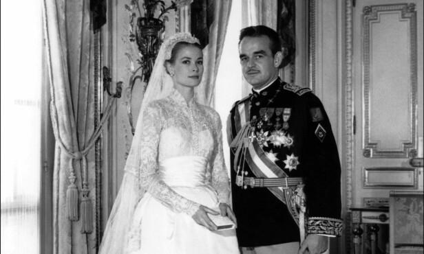 MAGISK: Kelly giftet seg med fyrst Rainer III i 1956, og paret var sammen helt til fyrstinnen avgikk med døden. Foto: NTB scanpix