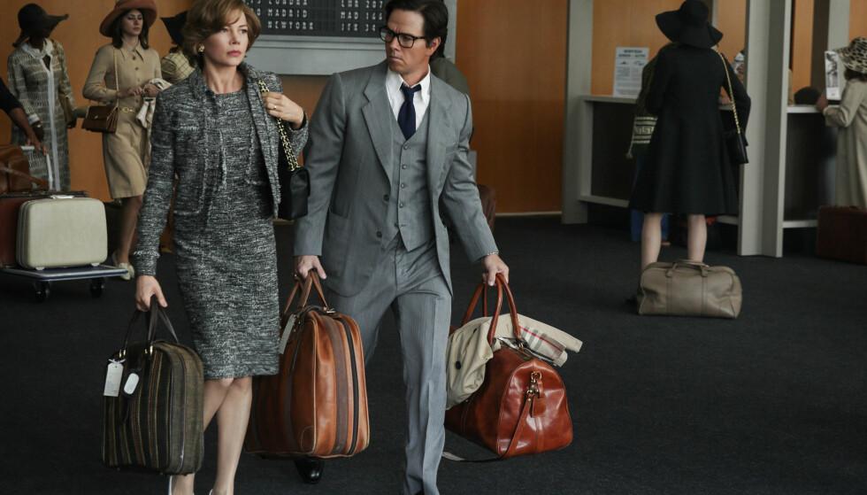 ALL THE MONEY IN THE WORLD: Mark Wahlberg og Michelle Williams spiller sammen i filmen som handler om kidnappingen av barnebarnet til verdens rikeste mann i 1973. Foto: NTB Scanpix